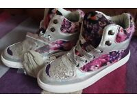 Ladies New size 7 Funky Hi top Trainers