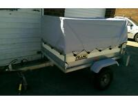 Trailer Franc 4x3 with high extension kit