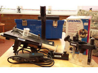 DREMEL AND ATTACHMENTS FOR SALE