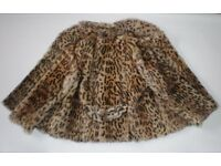 Beautiful Real Wildcat Fur Jacket / Coat, size S/M