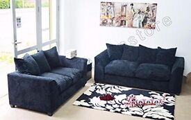 BRAND NEW SOFA FABRIC CORD 3+2 IN OFFER PRICE