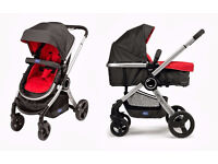 THE CHICCO URBAN STROLLER Half Price !!! Pushchair Pram Travel System £95 ONO great condition