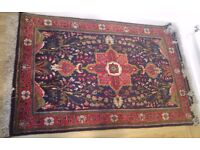 hand made Persian carpet