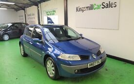 * 2007 RENAULT MEGAN Dynamique * 1.6 Petrol * Only 86k * MOT 29th JAN 2018 * 5 Door *