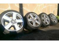 "Genuine Audi 18"" Ronal alloy wheels (5x112) Vw/ Seat/ Skoda"