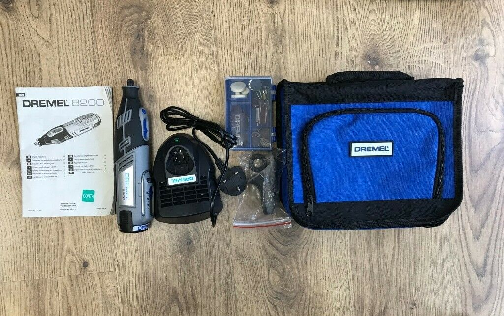 Dremel 8200 1 35 10 8v Cordless Multi Tool 35 Accessories