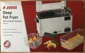 Judge - Deep Fat Fryer - Brand New Boxed