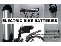Electric Bike E Bike Cycle Batteries 24v 36v 48v + New Charger Wisper Giant Izip Raliegh Powacycle