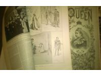 2.. VINTAGE FASHION MAGAZINES...FROM 1891 & 1896.......