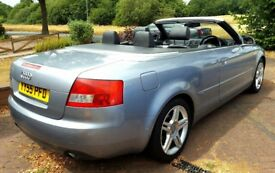 AUDI A4 CONVERTIBLE 18T S LINE low miles very clean car.