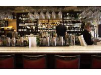 Bartender needed La Brasserie London SW32AW French restaurant and bar