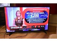 """49"""" BUSH LED TV FREEVIEW HDMI USB CAN DELIVER."""
