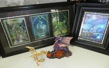 Rare myth dragon fairy collectables framed picture figurines Carrara Gold Coast City Preview