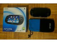 Sony PS Vita Console Boxed Good Condition