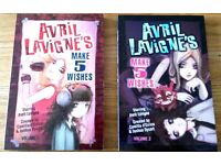 2 Brand New Teen's Books by Avril Lavigne - Make 5 Wishes