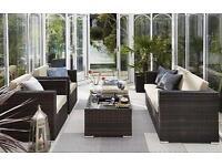 Brand New 5 Piece Rattan Lounge Set