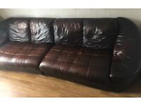 XXX CSL EXTRA LARGE LEATHER SOFA XXX