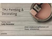 Experienced Female Painter & Decorator