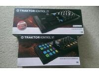 Traktor Kontrol X1 and Z1 - DJ mixing decks and effects controller and mixing interface