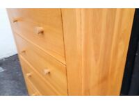 Chest of 5 Drawers Wood Big Size
