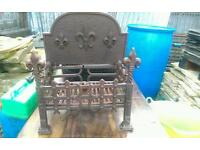 Cast iron log Basket