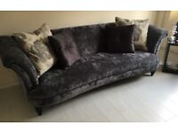 DFS Concerto 3 Seater sofa in Charcoal Grey, very good condition