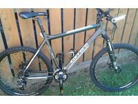 Carrera black mountain bike