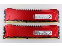 KINGSTON HyperX Savage Red 8GB (2x4GB) DDR3 PC3-19200 CL11 2400MHz Dual Channel Kit