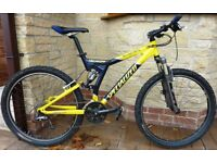 Superb Specialized Stump Jumper FSR Comp Mountain Bike