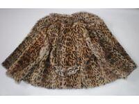 Beautiful Real Wildcat Fur Jacket / Coat, size S/M