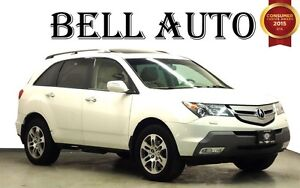 2009 Acura MDX TECH PKG NAVIGATION LEATHER SUNROOF