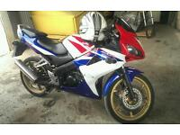Honda CBR125 Limited edition colours fuel injection