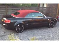 Audi A4 S Line Convertible TFSI Petrol - Lady Owner (price lowered).
