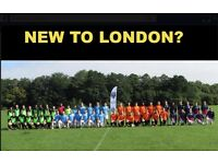 NEW TO LONDON? PLAYERS WANTED FOR FOOTBALL TEAM. FIND A SOCCER TEAM IN LONDON. Ref: de43w
