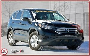 2013 Honda CR-V LX sièges chauffants ac cruise bluetooth camera