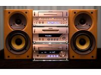 Sony Stack System Hifi, CD Player, Minidisc Player/Recorder, Stereo Cassette Player/Recorder