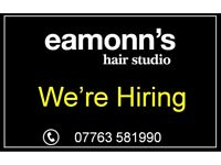 Senior Hair Stylist, 2x Part Time Stylists plus Self Employed Nail Technician/ Beautician