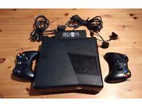 Microsoft Xbox Xbox360 360 S Model 1439 Black Slim 250gb Console