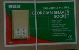 Georgian Shaver Socket