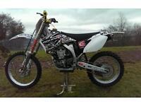 Yamaha yzf 450 motorcross