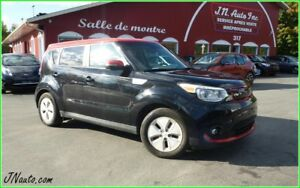 2016 KIA Soul EV Deluxe Canadienne, 6.6 kwh,recharge 220v/400v c