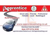 Now's the best time to learn to drive with Apprentice Driving Tuition! Contact 03450519239