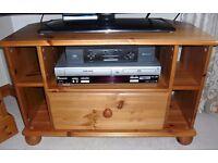 """Solid Pine TV Unit (32"""" / 80cm wide)"""
