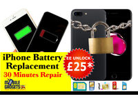 iPhone Factory Unlock Service & Express Battery Replacement in Birmingham 02 EE Vodafone iPhone 7 7+