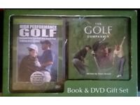 Golf book and DVD