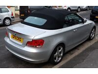 BMW 118d 1 Series Convertible - well looked after and very reliable
