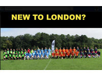 NEW TO LONDON? Join Us! Play football in South london, find football in london,play soccer in london
