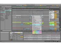 Tuition for Ableton live. Beginner seeks help starting, for creating music, linking to analog synth