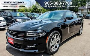 "2016 Dodge Charger SXT AWD, PWR SUNROOF, BLUETOOTH, 8.4"" DISPLAY"