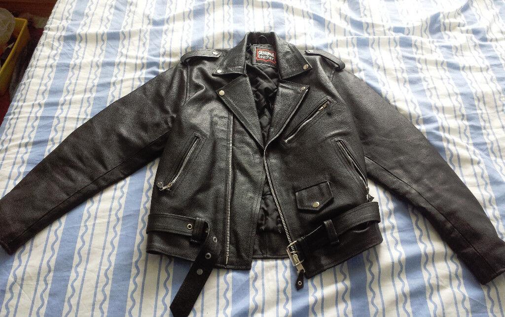 Men's Black Negan Style Leather Jacket